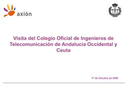 la presentación mostrada de la compañía Axión