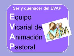 EQUIPO PARROQUIAL DE ANIMACIÓN PASTORAL (EPAP)
