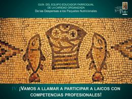 GUÍA PRÁCTICA DEL EQUIPO EDUCADOR PARROQUIAL DE LA