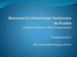 programa - Facultad de Ciencias de la Computación