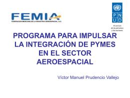 Programa de Certificaciones Aeroespaciales PNUD