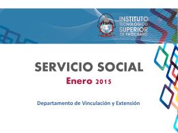 SERVICIO SOCIAL - Tecnológico de Pátzcuaro
