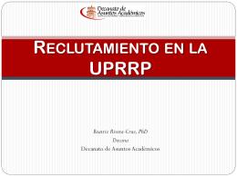 Seminario de Evaluación del Personal Docente (Beatriz Rivera)