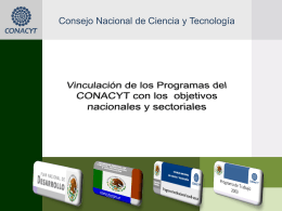 Alineación PND, PECiTI, Programa Institucional y
