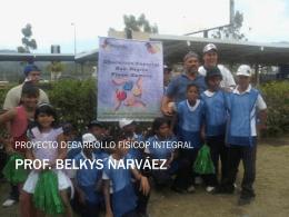 PROF. BELKYS NARVÁEZ - Gobierno del estado Miranda