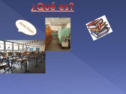 Qué es? El restaurante escolar