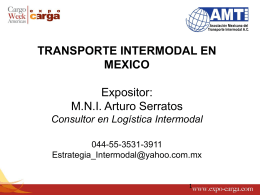 Transporte Multimodal & Intermodal