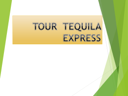"""Tequila Express""? - dgeti quintana roo"
