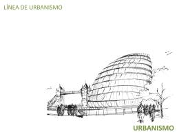 urbanismo i - Escuela de Arquitectura