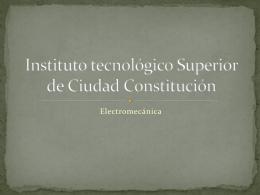 Instituto tecnológico Superior de Ciudad Constitución