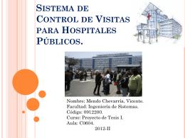 Sistema Tarifario de Transporte Público para la ciudad de Lima