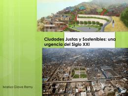 Enfoque social y ambiental de la política urbana