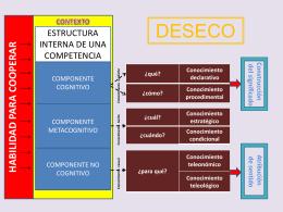 Competencias DESECO
