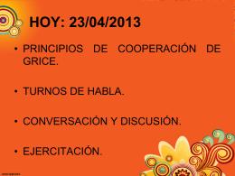 principios de cooperacion - Liceo Bicentenario Talagante