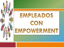 empleados con empowerment - aprendizaje-organizacional