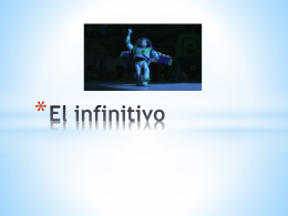 El infinitivo