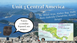 Unidad 3 América Centra