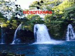 Presentación Hidroterapia