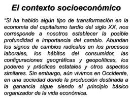Proceso de globalización económica