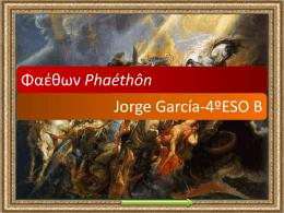 ****** Phaéthôn Faetón - Página web de Jorge García Samartín