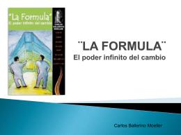 """Presentación libro """"La fórmula"""""""