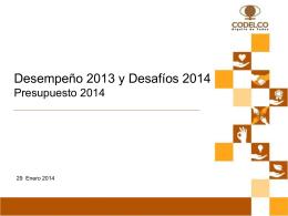 Objetivos Claves Fin de 2013