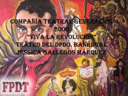 Compañía teatral generación 2000