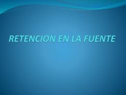 RETENCION EN LA FUENTE ANDRES MAESTRE