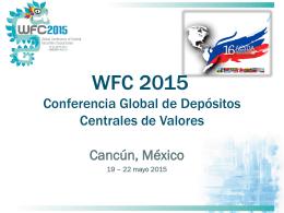 Cancún, México 19 – 22 mayo 2015 - PLOT