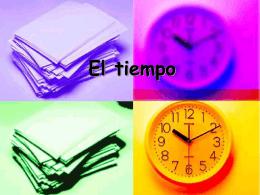 """""""Reloj, reloj""""."""