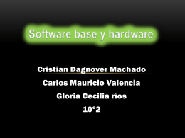 Software base y hardware taller