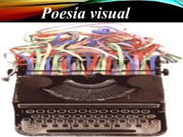 Poesía Visual - CONTINTAROJA.CL