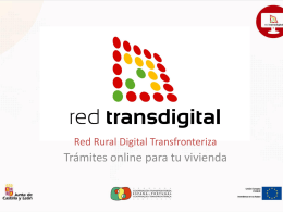 Mi Vivienda - Red Rural Digital Transfronteriza