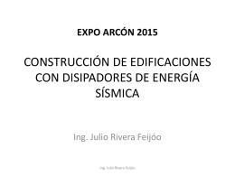 GERPAL Ing. Julio Rivera Feijóo