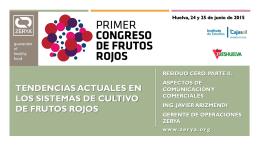 Descargar presentación - Congreso Frutos Rojos