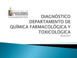 DEPARTAMENTO DE QUÍMICA FARMACOLÓGICA Y