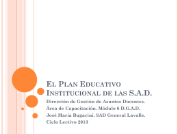 documento 5 sobre plan institucional de la sad 2013