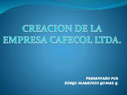 CAFECOL LTDA