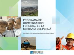 Presentación programa de Compensación Forestal Foro Min Minas