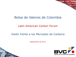 Slide 1 - Latin American Carbon Forum