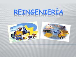 Reingeniería - aprendizaje-organizacional