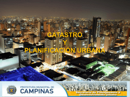 Catastros Municipales en Brasil.