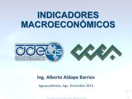 indicadores macroeconomicos diciembre 2013