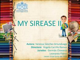 my sirease ii - Trabajos de grado | Ingeniería de sistemas | Pontificia