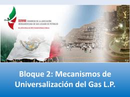 LIBRE IMPORTACION DEL GAS L.P.