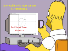 Recta y Circunferencia richard
