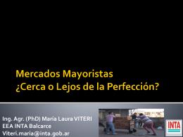 Mercados Mayoristas - Mercado Concentrador Chubut