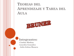Bruner exposición