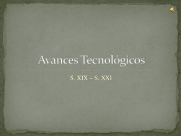 Avances tecnologicos - columbia secondary school