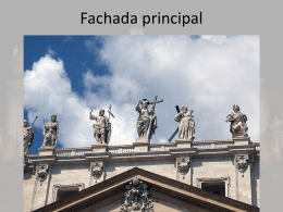 Fachada principal - Historia del Arte II